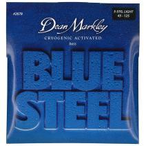 Dean Markley Blue Steel 5-String Electric Bass Strings, 45-125, 2678, Light