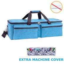 KGMCARE Carrying Bag Compatible with Cricut Explore Air and Maker, Waterproof Tote Bag Compatible with Cricut Explore Air and Supplies- Free Canvas Machine Cover