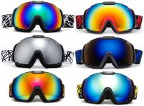 Cloud 9 Professional Adult Snow Goggles Wildcat Anti-Fog Dual Lens Wide Angle