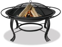 Endless Summer, WAD1050SP, 34.6 in.Diameter Black Firepit with Outer Ring