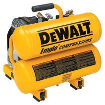 DEWALT D55151 14 Amp 1.1-HP 4-Gallon Oiled Twin Hot Dog Compressor