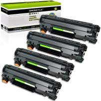 GREENCYCLE 4 PK Compatible for Canon CRG 128 C128 3500b001aa Black Laser Toner Cartridge for ImageCLASS D530 MF4570dw MF4770N D530