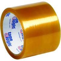 """Partners Brand PT905516PK Clear Tape Logic Natural Rubber Tape, 2.2 mil, 3"""" x 110 yd. (Pack of 6)"""