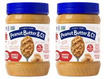 Peanut Butter & Co. Crunch Time Peanut Butter 16 Ounce (Pack of 2)
