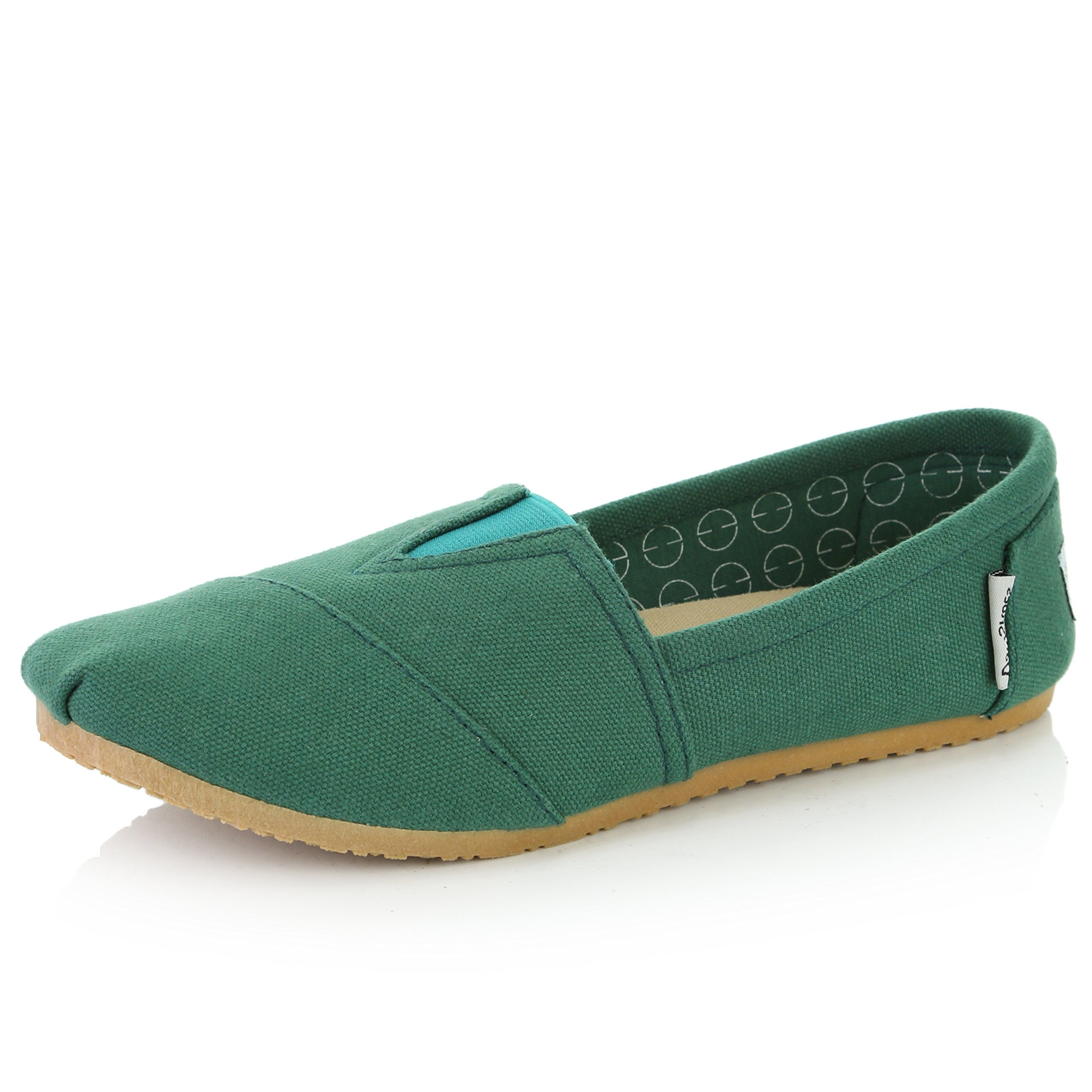 DailyShoes Classic Flat Slip-On Casual Shoes, Women's Fashion