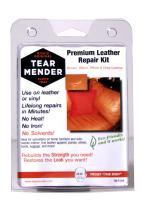 Tear Mender Premium Leather Repair Kit with Patches and Color Refinish Compound, 2 oz Bottle, TM-P-LRK