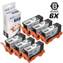 LD Compatible Ink Cartridge Replacement for Lexmark 100XL 14N1068 High Yield (Black, 6-Pack)