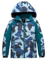 ZSHOW Boy's Thicken Winter Puffer Jacket Windproof Quilted Warm Fleece Coat with Hood