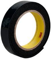 3M High Temperature Loop Fastener Tape SJ60L, Black, 2 in x 25 yd