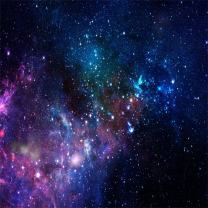 AOFOTO 5x5ft Nebula Backdrop Starry Sky Photography Background Universe Galaxy Outer Space Kid Baby Girl Boy Child Artistic Portrait Photo Shoot Studio Props Video Drop Vinyl Wallpaper Drape