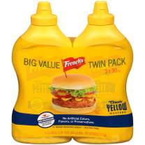 French's Big Value Twin Pack Classic Yellow Mustard, 60 oz