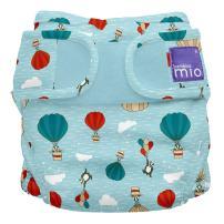 Bambino Mio, Miosoft Cloth Diaper Cover, Sky Ride, Size 1 (<21lbs)