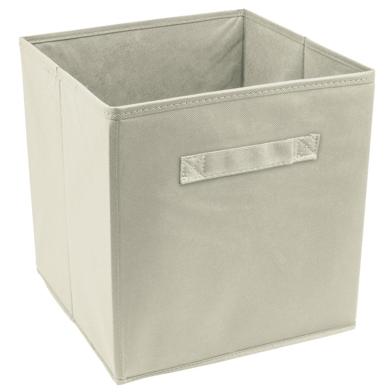 Sorbus Cube Storage Bin, Beige