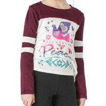 FASHION X FAITH Girls Long Sleeve Shirts - Jessica Silky Jersey Thankful Top Tees Clothes, Made in USA