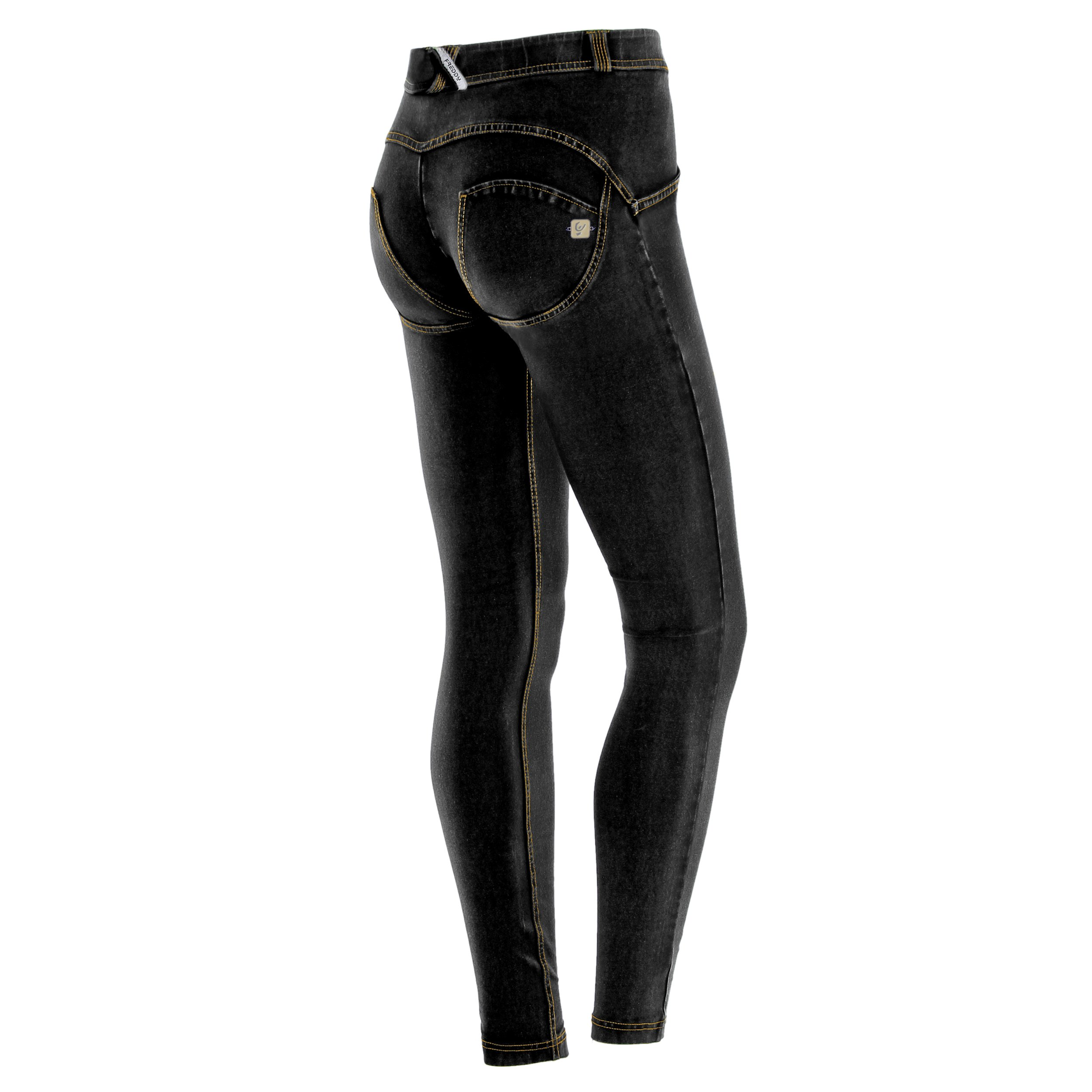 Freddy WR.UP Regular Rise Denim Skinny Jeans for Women, Butt Lifting, Signature Shaping Pants, Sexy Push Up Pants