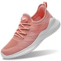 Autper Womens Slip On Tennis Walking Shoes Casual Lightweight Memory Foam Athletic Running Sneaker for Gym Jogging(US 5.5-10B(M)