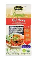 Sutharos Organic Thai Red Curry Meal Kit (6 Pack), 100% Vegan, Gluten-Free, Comes With Curry Paste, Coconut Milk, Herbs, and Spices