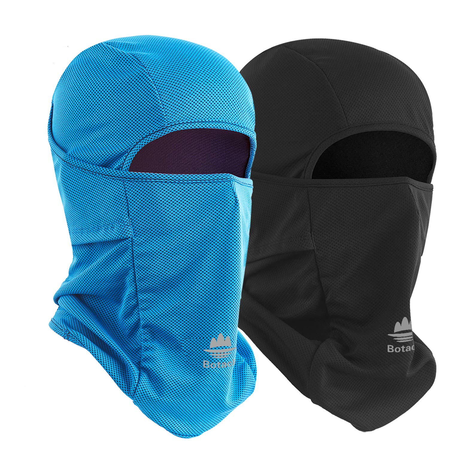 Botack Balaclava UV Protect Ice Cooling Face Mask Dust Wind Breathable Balaclava Gaiter Cycling Motor Neck Mask for Men Women