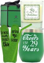 29th Birthday Gifts for Women, 29th Birthday, 29th Birthday Tumbler, 29th Birthday Decorations for Women, Gifts for 29 Year Old Woman, Turning 29 Year Old Birthday Gifts Ideas for Women