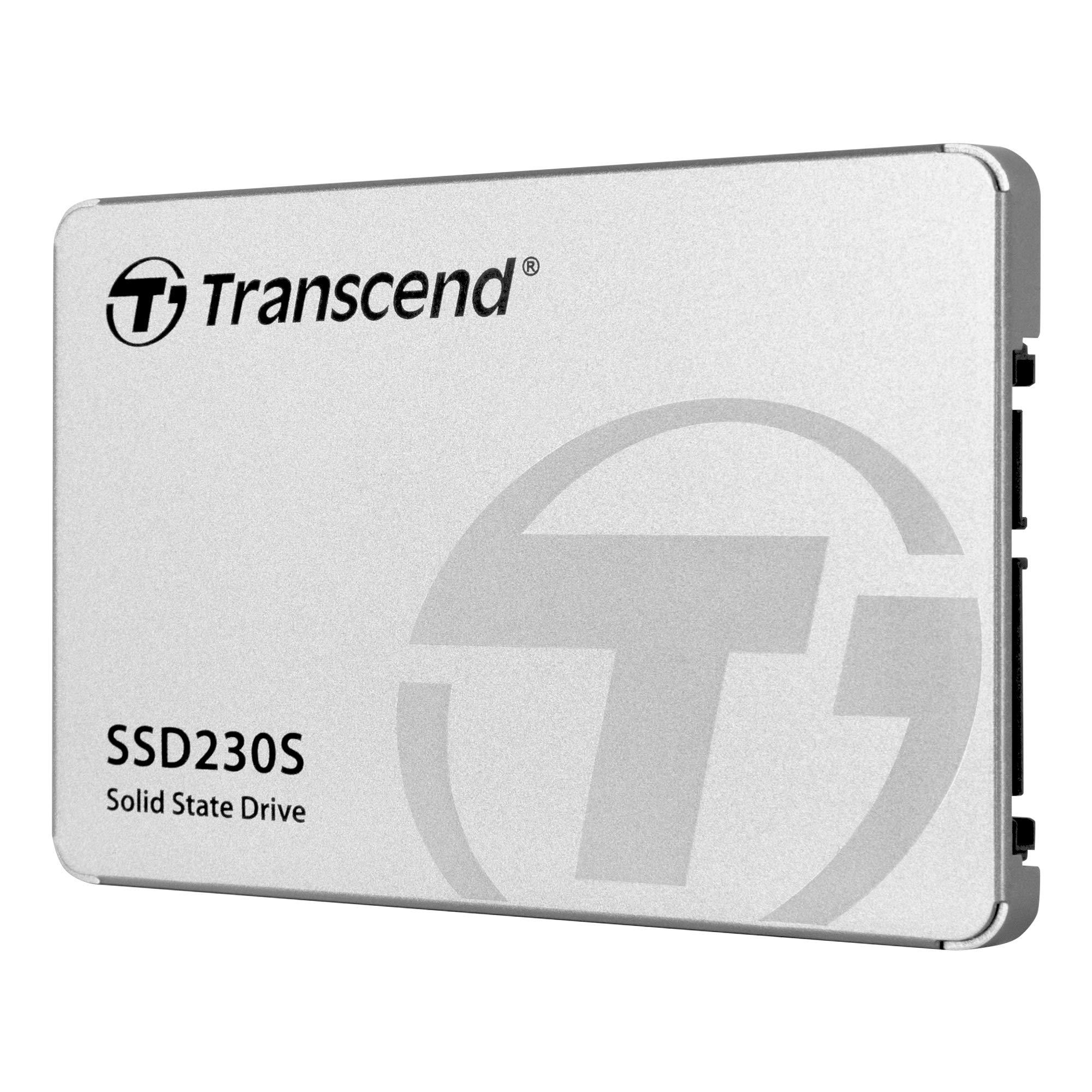 "Transcend 256GB SATA III 6Gb/s SSD230S 2.5"" Solid State Drive TS256GSSD230S,Silver"