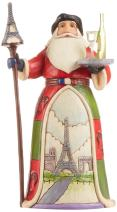 Jim Shore for Enesco Jim Shore Heartwood Creek French Santa Stone Resin Figurine