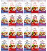 Healthy Premium Assorted Nuts and Fruits Snack Mix Sampler Variety Pack, Good for the Heart by Variety Fun (Care Package 48 Count)