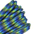 Bored Paracord - 1', 10', 25', 50', 100' Hanks & 250', 1000' Spools of Parachute 550 Cord Type III 7 Strand Paracord Well Over 300 Colors - Water World - 50 Feet