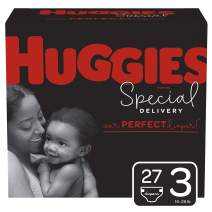 Huggies Special Delivery Hypoallergenic Diapers, Size 3 (16-28 lb.), 27 Ct, Jumbo Pack