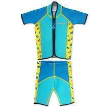 Cheekaaboo Twinwets Kids Two Piece UPF50+ Thermal Swimsuit for Boys and Girls, 2-8 Years
