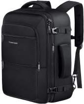 Travel Backpack, 40L Carry On Flight Approved Weekender Backpack, Expandable Airline Approved Travel Backpacks Bag for Men Women, Water Resistant Luggage backpack Rucksack for Outdoor,Black