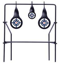 Crosman CSLT Metal Spinning Target For Use With .177-Caliber And .22-Caliber Pellets , Black