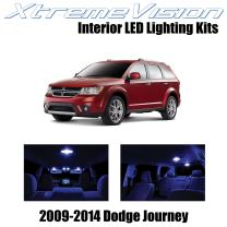 Xtremevision Interior LED for Dodge Journey 2009-2014 (7 Pieces) Blue Interior LED Kit + Installation Tool