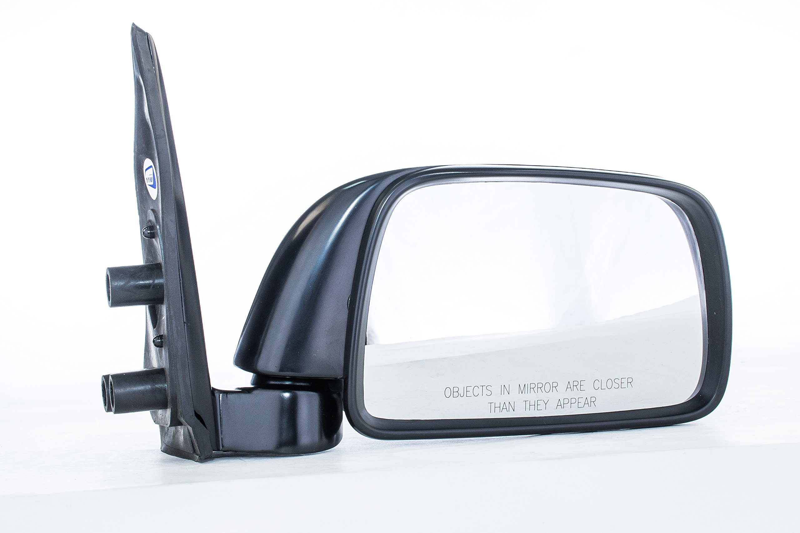 Dependable Direct Right Passenger Side Black Manual Folding Non-Heated Door Mirror for Toyota Tacoma (1995 1996 1997 1998 1999 2000) - TO1321116
