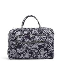 Vera Bradley Performance Twill Lay Flat Weekender Travel Bag