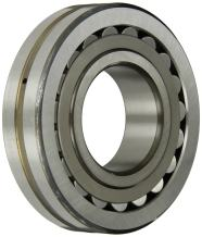 SKF 21306 CC Spherical Radial Bearing, Straight Bore, Steel Cage, Normal Clearance, 30mm Bore, 72mm OD, 19mm Width