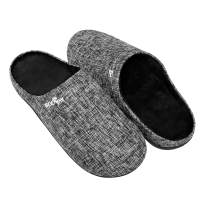 Orthotic Slippers with Arch Support for Plantar Fasciitis Pain Relief, Comfortable Orthopedic Clog House Shoes with Indoor Outdoor Anti-Skid Rubber Sole by ERGOfoot (10 US Women/ 9 US Men)