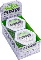 (NEW LOOK) Spearmint Xylitol Candy Chips (6-Pack) - SNØ 1.5oz Tins - Handcrafted w/ ONLY 2 Ingredients | Diabetic-friendly, Non-GMO, Vegan, Keto, GF & Kosher | Purest sugar-free candy in the world!