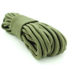 Emergency Zone 9mm Nylon Braided, 50 Foot, Multi-Purpose Camping Rope | Green (40 Pack)