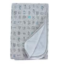Keepersheep Baby Blanket Swaddle Blanket, Cotton Knee Blanket, Knit Muslin Baby Swaddle Wrap Receiving Blanket