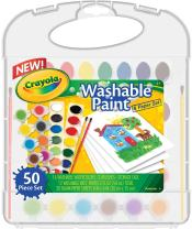 Crayola 04-5222 Washable Paint & Paper Set Toy, Assorted