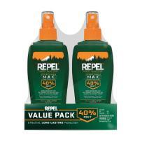 Repel Insect Repellent Sportsmen Max Formula Spray Pump 40% DEET, 2/6-Ounce