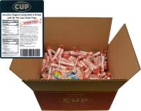 Smarties Original Candy Rolls 6 lb Box with By The Cup Clown Pops