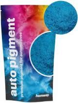 Hemway Premium Automotive Pearl Pigments Custom Automotive Paint, Plasti-Dip, Binders, Clear Coatings, Casting, Gel Coating, Resin, Powder Coating (Metallic Ocean Blue, 3.6oz / 100g)