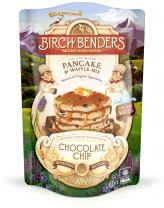 Organic Chocolate Chip Pancake and Waffle Mix by Birch Benders, Whole Grain, Just Add Water, Non-GMO, 16oz