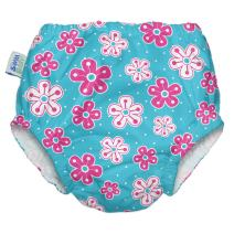 My Swim Baby Diaper New Sizing, Aqua Petal, Medium