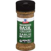 McCormick Basil, Oregano, Garlic & Sea Salt All Purpose Seasoning, 3.25 oz
