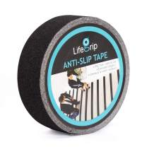 """Anti Slip Traction Tape, 2 Inch x 60 Foot - Best Grip, Friction, Abrasive Adhesive for Stairs, Tread Step, Indoor, Outdoor (Tape, 2"""" X 60')"""