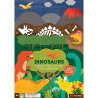 Petit Collage Sticker Activity Set, Dinosaurs