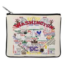 Catstudio Washington DC Zipper Pouch & Coin Purse | Holds Your Phone, Pencils, Makeup, Dog Treats, Tech Tools | Great for Travel, Women, Men, Girls, Boys