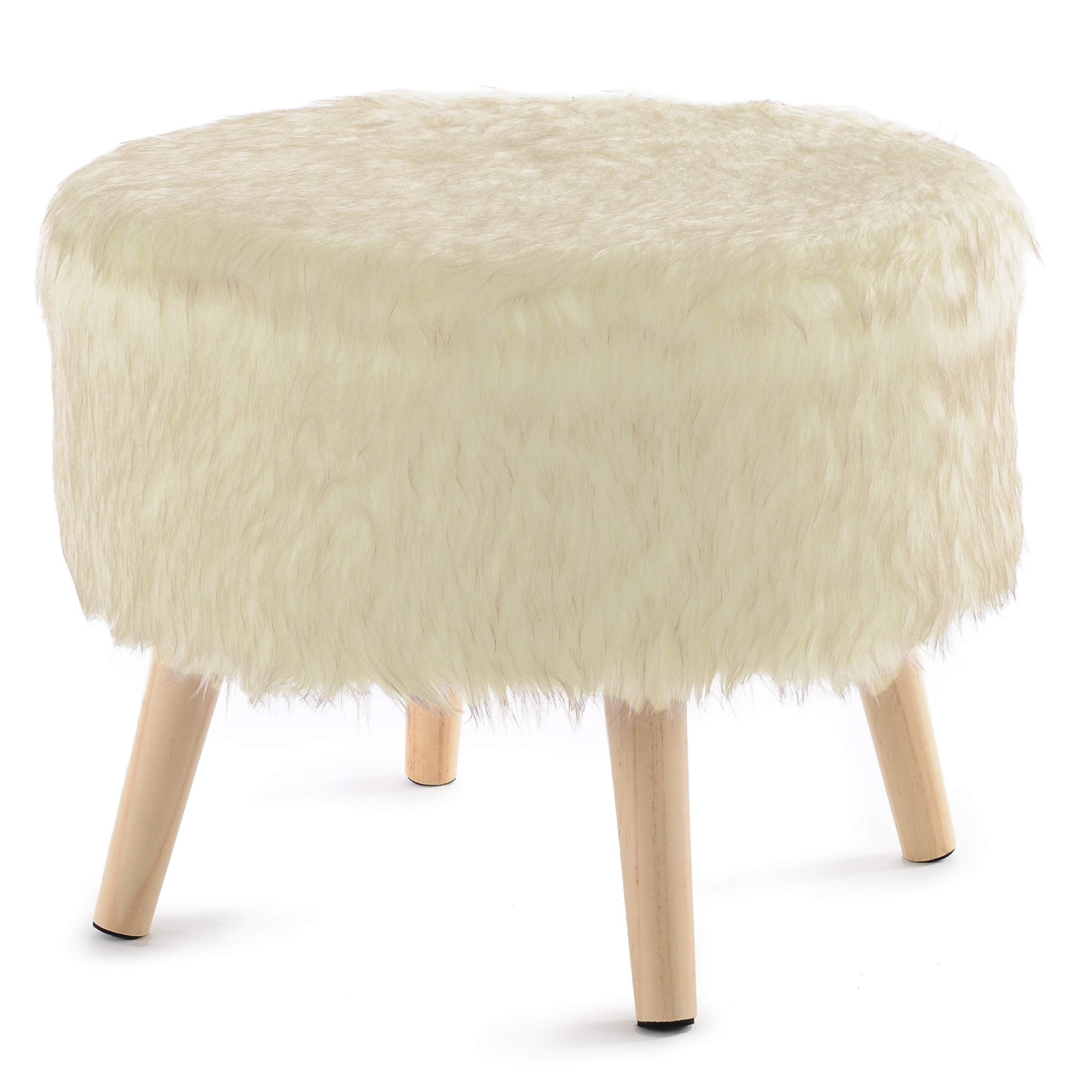 "Cheer Collection 17"" Round Ottoman 
